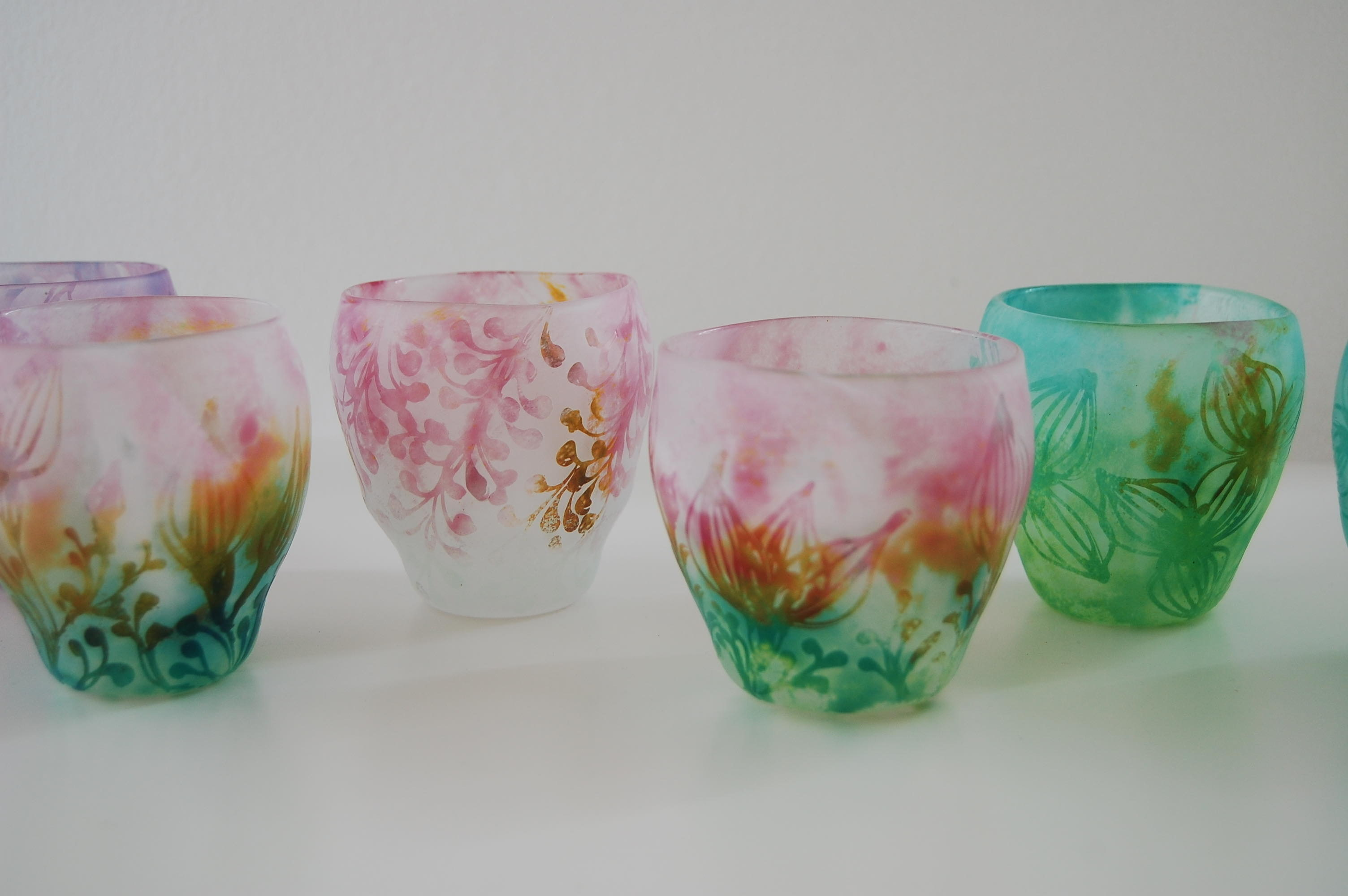 Bocciolo展 中野由紀子さんNostalgia花器・グラス_b0353974_15071914.jpg