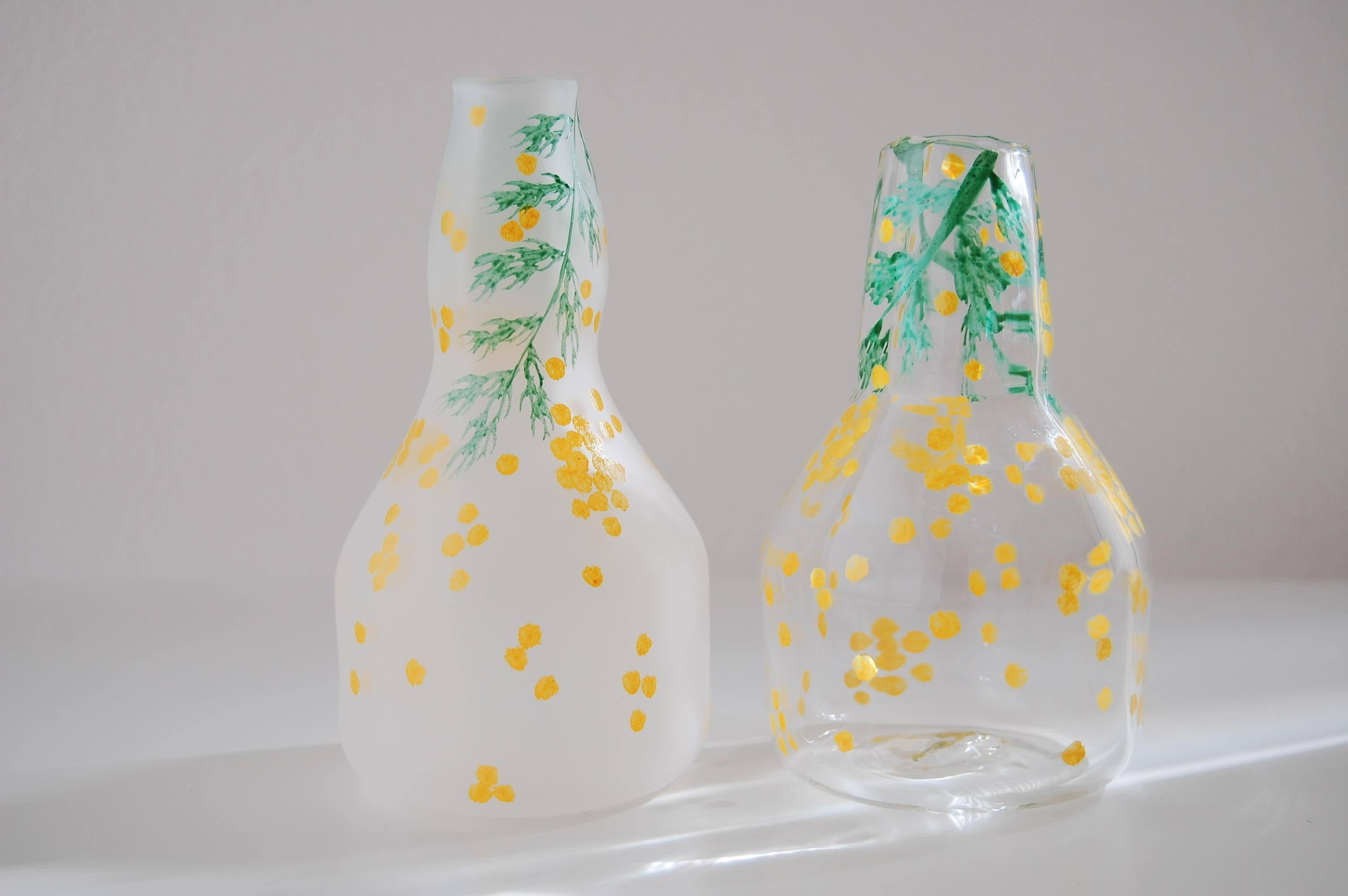 Bocciolo展 中野由紀子さん gardenグラス・豆皿・花器_b0353974_15205352.jpg
