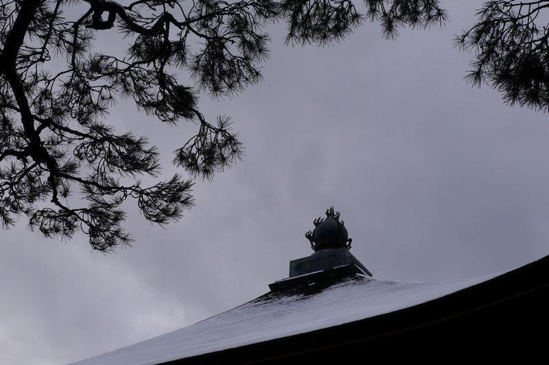 経堂に雪積む_b0150077_21281767.jpg