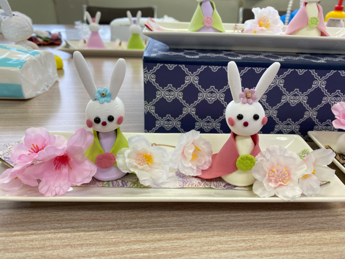日本生命様出張教室「うさぎのお雛様」午前の部_a0352484_14270240.jpg