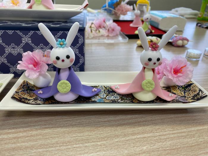 日本生命様出張教室「うさぎのお雛様」午前の部_a0352484_14270306.jpg