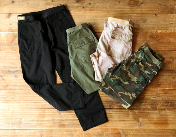 【DELIVERY】 STANDARD CALIFORNIA - Easy Fatigue Pants_a0076701_14380076.jpg