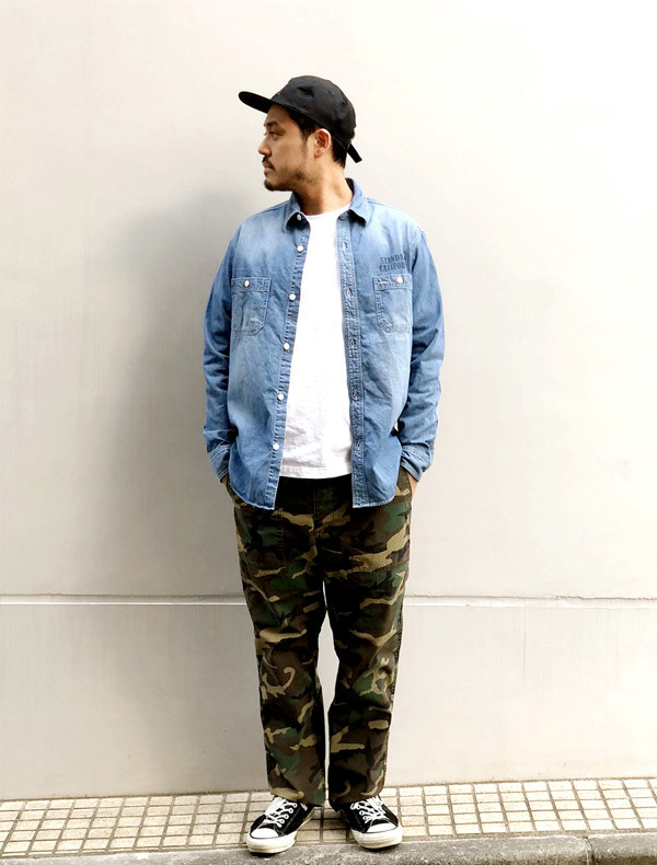 【DELIVERY】 STANDARD CALIFORNIA - Easy Fatigue Pants_a0076701_14422253.jpg