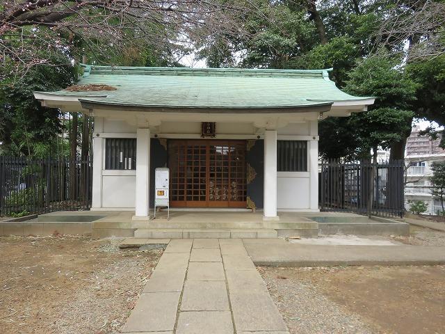 駒込富士神社①(新江戸百景めぐり60-1)_c0187004_12314364.jpg