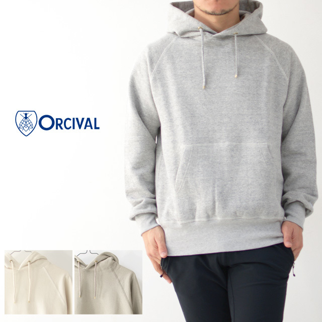 ORCIVAL [オーチバル・オーシバル] M Vintage French Terry Pullover [RC-9008] ヴィンテージフレンチテリープルオーバー・パーカー・ MEN\'S _f0051306_14471356.jpg