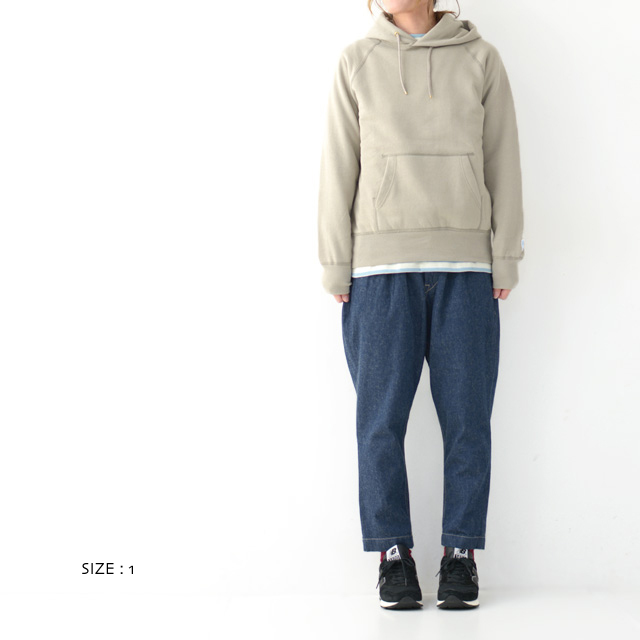 ORCIVAL [オーチバル・オーシバル] W Vintage French Terry Pullover [RC-9008] ヴィンテージフレンチテリープルオーバー・パーカー・LADY\'S _f0051306_14530561.jpg