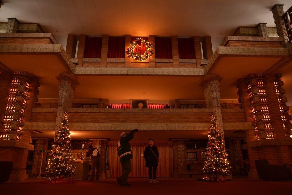 帝国ホテル内のクリスマス装飾(今更ながら)_e0373930_20333944.jpg