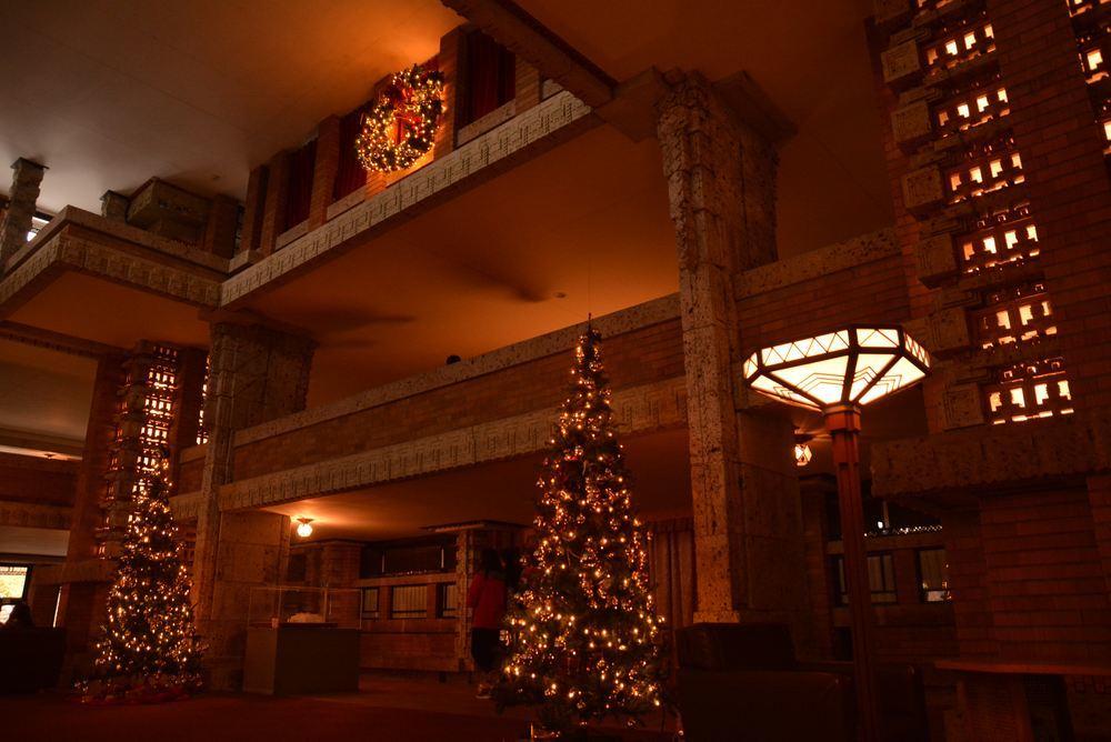 帝国ホテル内のクリスマス装飾(今更ながら)_e0373930_20333965.jpg