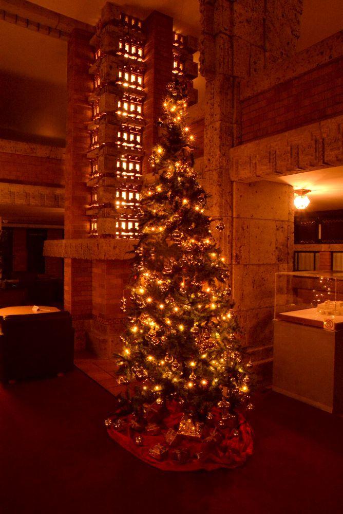帝国ホテル内のクリスマス装飾(今更ながら)_e0373930_20333977.jpg
