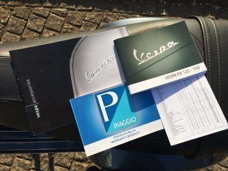 2015 Piaggio Vespa PX150 euro3 ドロミテグレー_f0123137_16474195.jpg