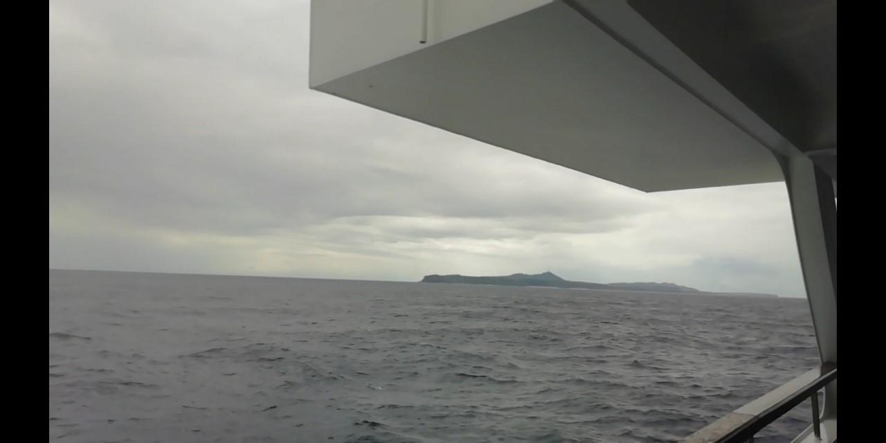 """2月20日 """"フェリーよなくに"""" 初めての乗船 _b0158746_16273975.jpg"""