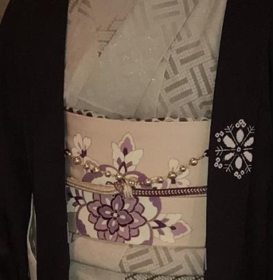 新年会・久子さま・藤井絞羽織・素敵な手作りバッグ。_f0181251_17552372.jpg