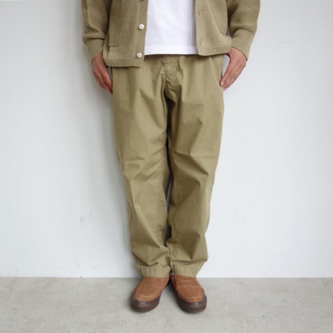 THE NORTH FACE PURPLE LABEL : Ripstop Shirred Waist Pants_a0234452_14475078.jpg