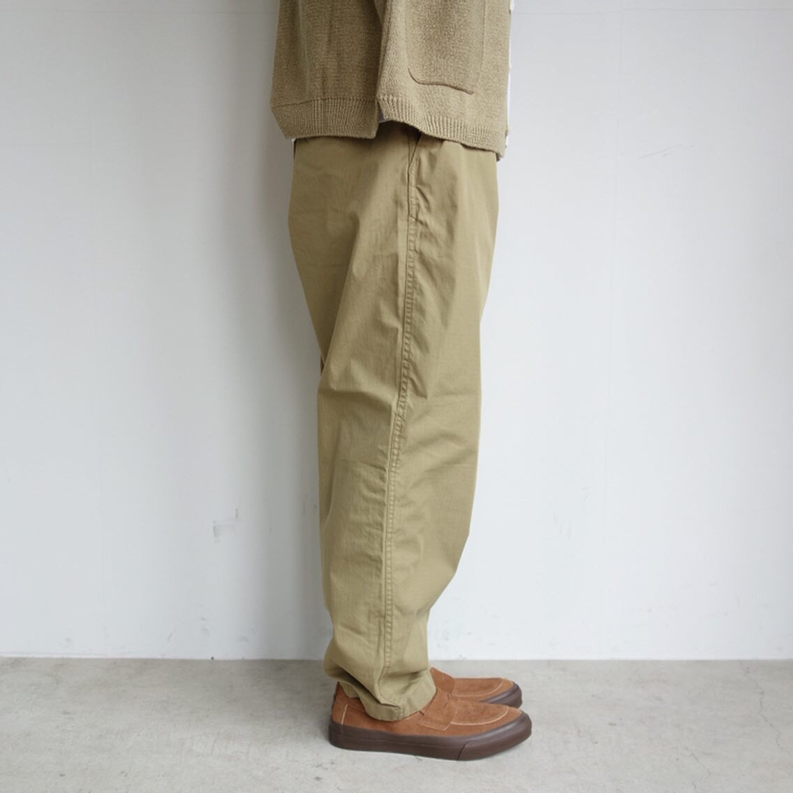 THE NORTH FACE PURPLE LABEL : Ripstop Shirred Waist Pants_a0234452_14475372.jpg