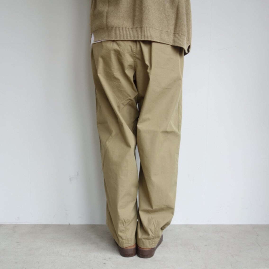 THE NORTH FACE PURPLE LABEL : Ripstop Shirred Waist Pants_a0234452_14475504.jpg