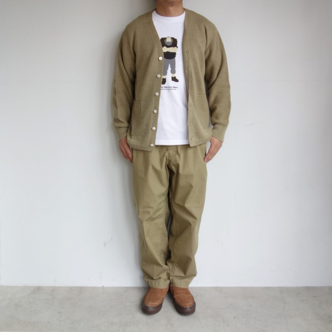 THE NORTH FACE PURPLE LABEL : Ripstop Shirred Waist Pants_a0234452_14475909.jpg