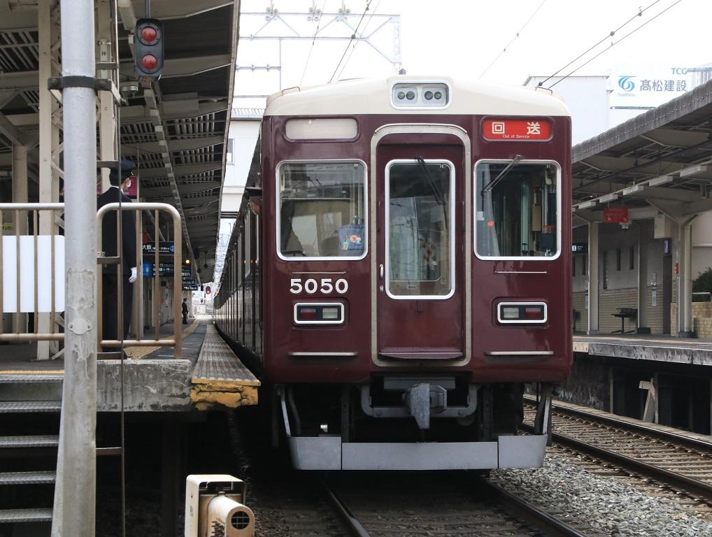 阪急5000系 5000F 正雀回送_d0202264_12172823.jpg
