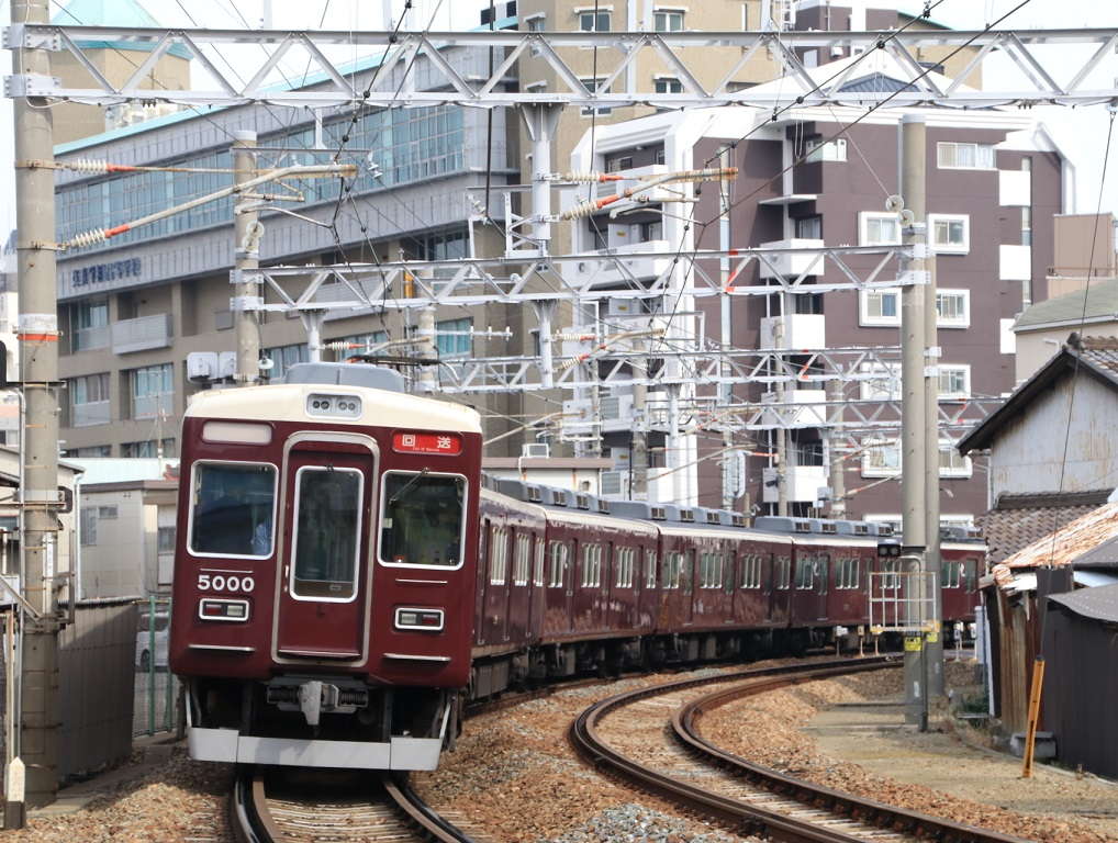 阪急5000系 5000F 正雀回送_d0202264_1218282.jpg