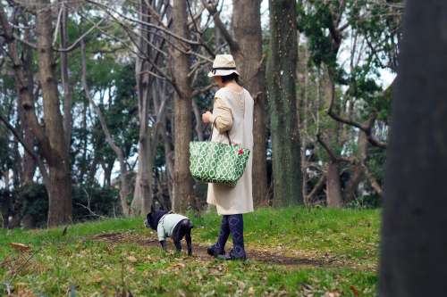 「relax bag travel」大きな柄から小さな柄まで。_e0243765_18374719.jpg