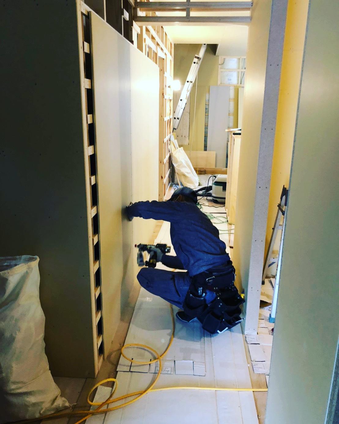 愛知県豊橋市H様 新築住宅工事その3 大工工事まもなく完了!_c0180474_22141909.jpg
