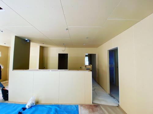 愛知県豊橋市H様 新築住宅工事その3 大工工事まもなく完了!_c0180474_22540326.jpg