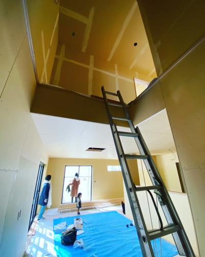 愛知県豊橋市H様 新築住宅工事その3 大工工事まもなく完了!_c0180474_22580636.jpg
