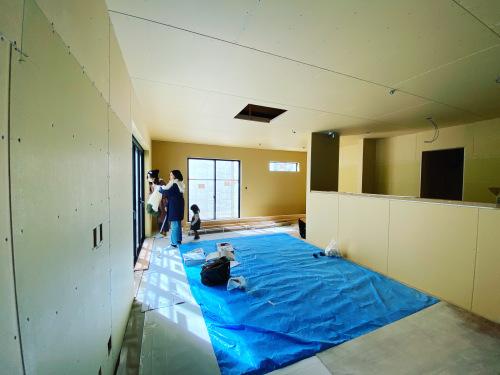 愛知県豊橋市H様 新築住宅工事その3 大工工事まもなく完了!_c0180474_22592665.jpg