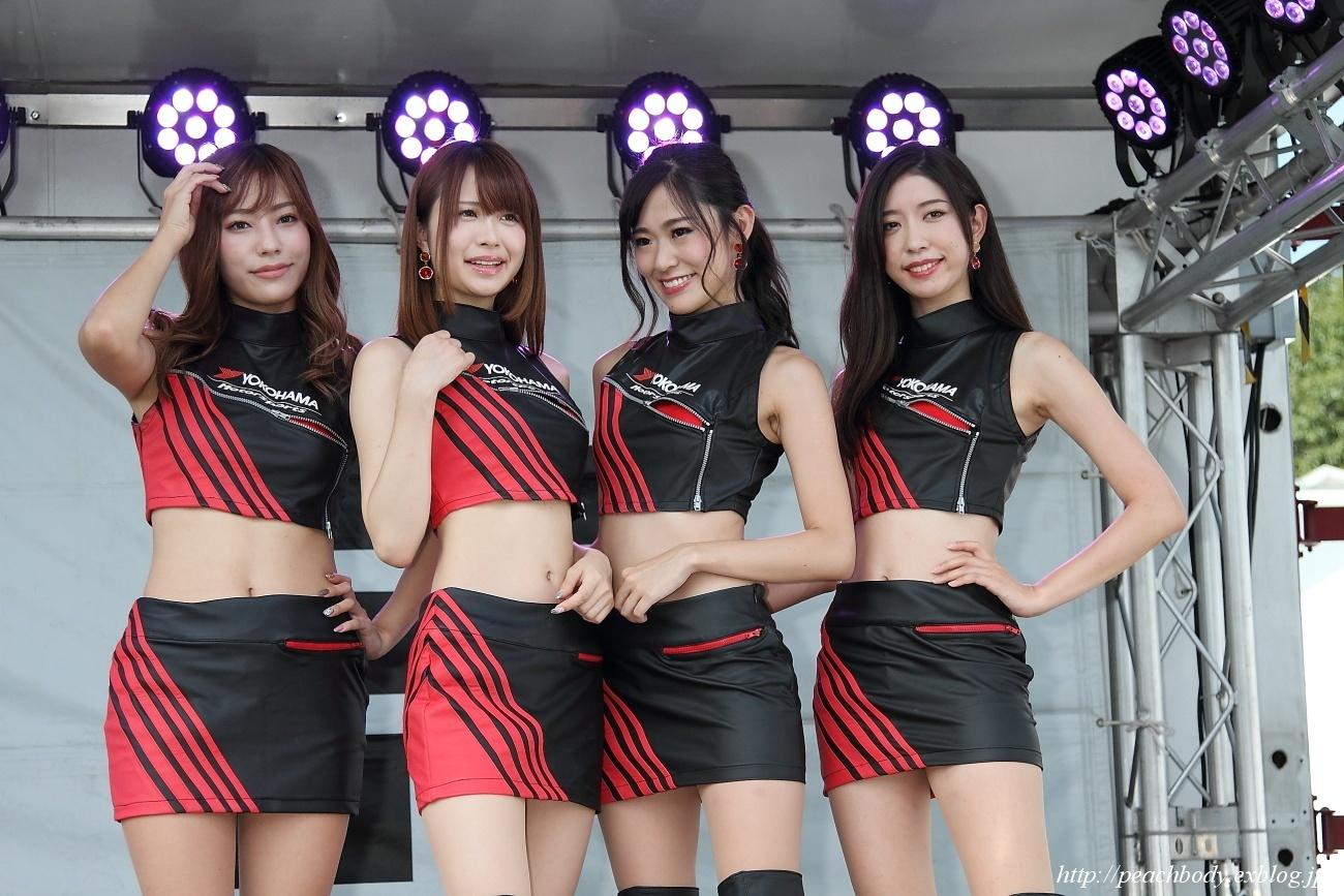 星野 奏 さん、松田 蘭 さん、近藤みき さん、鳴村なか さん(YOKOHAMA promotional models)_c0215885_20412970.jpg