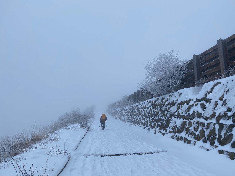 休みがあったら山登りin久住冬〜三股山_f0232994_13500236.jpg