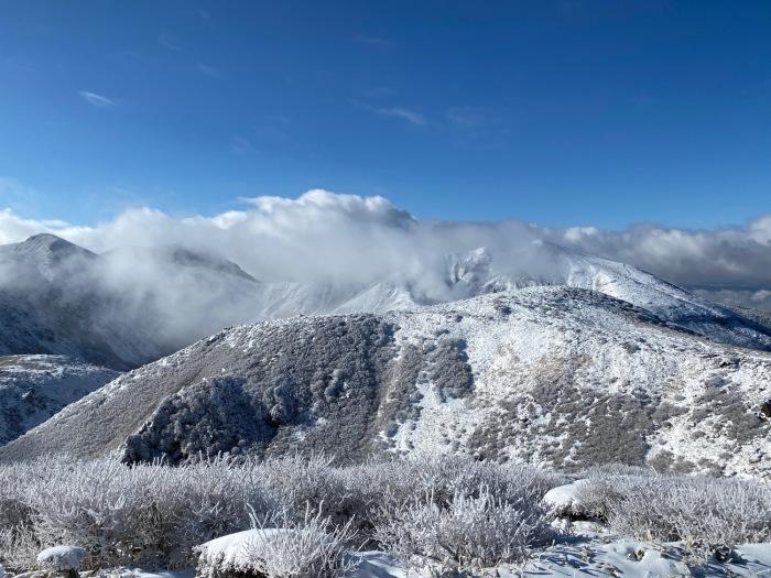 休みがあったら山登りin久住冬〜三股山_f0232994_14103087.jpg