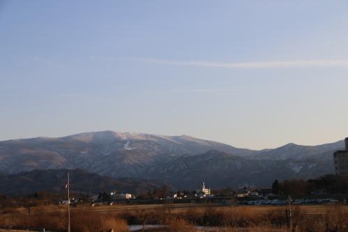 快晴の夕方、米沢キャンパスから撮影しながら自宅へ_c0075701_19554090.jpg