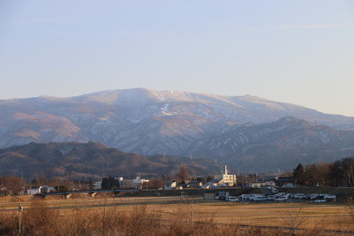 快晴の夕方、米沢キャンパスから撮影しながら自宅へ_c0075701_19564724.jpg