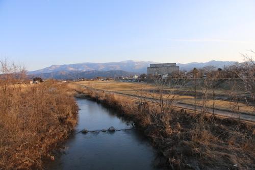 快晴の夕方、米沢キャンパスから撮影しながら自宅へ_c0075701_19565829.jpg