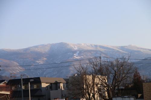 快晴の夕方、米沢キャンパスから撮影しながら自宅へ_c0075701_19575139.jpg
