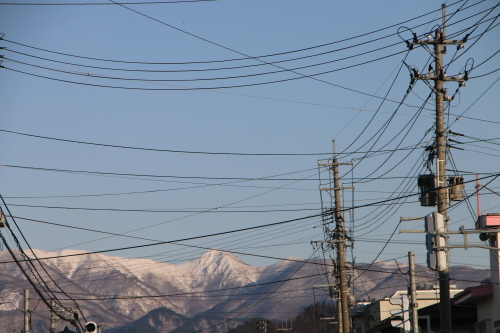 快晴の夕方、米沢キャンパスから撮影しながら自宅へ_c0075701_19584808.jpg