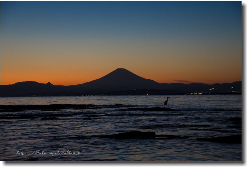 江の島からの夕景_f0356904_19453740.jpg