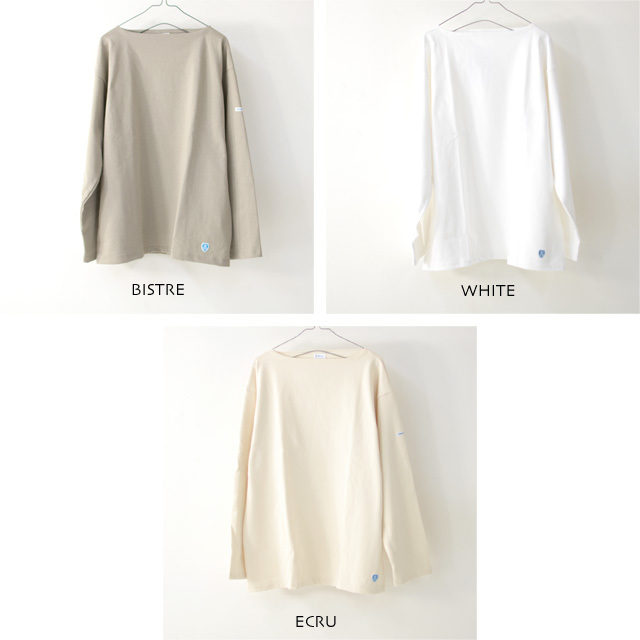 ORCIVAL [オーチバル・オーシバル] VASQUE SOLID BIGGER TEE [B211C] バスクシャツ・ビッグT・カットソー・無地・長袖Tシャツ MEN'S/LADY\'S _f0051306_15052512.jpg