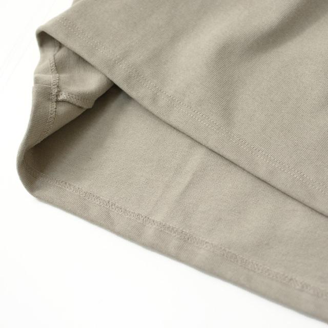 ORCIVAL [オーチバル・オーシバル] VASQUE SOLID BIGGER TEE [B211C] バスクシャツ・ビッグT・カットソー・無地・長袖Tシャツ MEN'S/LADY\'S _f0051306_15052521.jpg