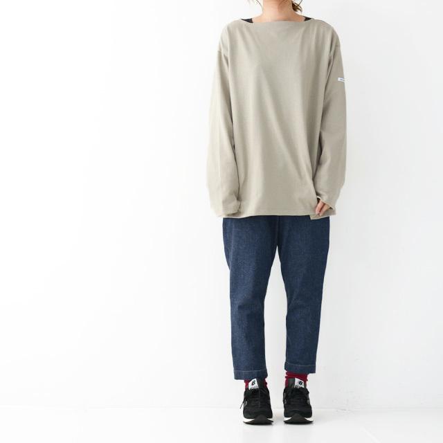 ORCIVAL [オーチバル・オーシバル] VASQUE SOLID BIGGER TEE [B211C] バスクシャツ・ビッグT・カットソー・無地・長袖Tシャツ MEN'S/LADY\'S _f0051306_15052528.jpg