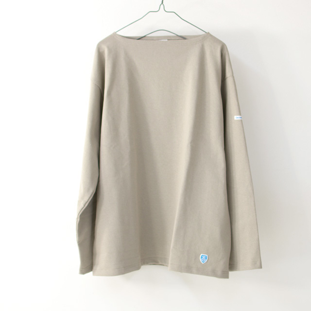 ORCIVAL [オーチバル・オーシバル] VASQUE SOLID BIGGER TEE [B211C] バスクシャツ・ビッグT・カットソー・無地・長袖Tシャツ MEN'S/LADY\'S _f0051306_15052551.jpg