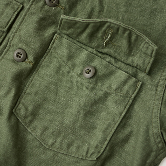 orslow [オアスロウ] US ARMY SHIRT [03-8045-16] ユーエスアーミーシャツ ・ミリタリージャケット・MEN\'S _f0051306_15160616.jpg