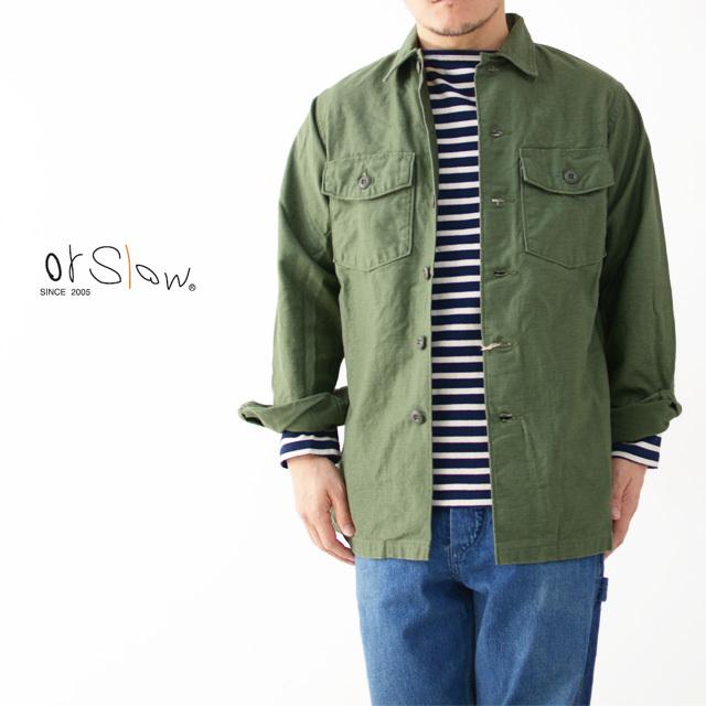 orslow [オアスロウ] US ARMY SHIRT [03-8045-16] ユーエスアーミーシャツ ・ミリタリージャケット・MEN\'S _f0051306_15160662.jpg