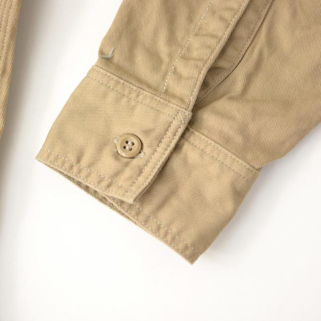 orslow [オアスロウ] M WORK SHIRT KAHKI TWILL [01-8070-40] ワークシャツ・チノツイル・長袖シャツ・MEN\'S _f0051306_15244610.jpg
