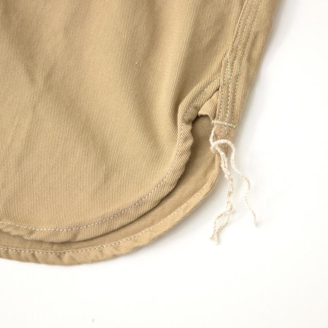 orslow [オアスロウ] M WORK SHIRT KAHKI TWILL [01-8070-40] ワークシャツ・チノツイル・長袖シャツ・MEN\'S _f0051306_15244614.jpg
