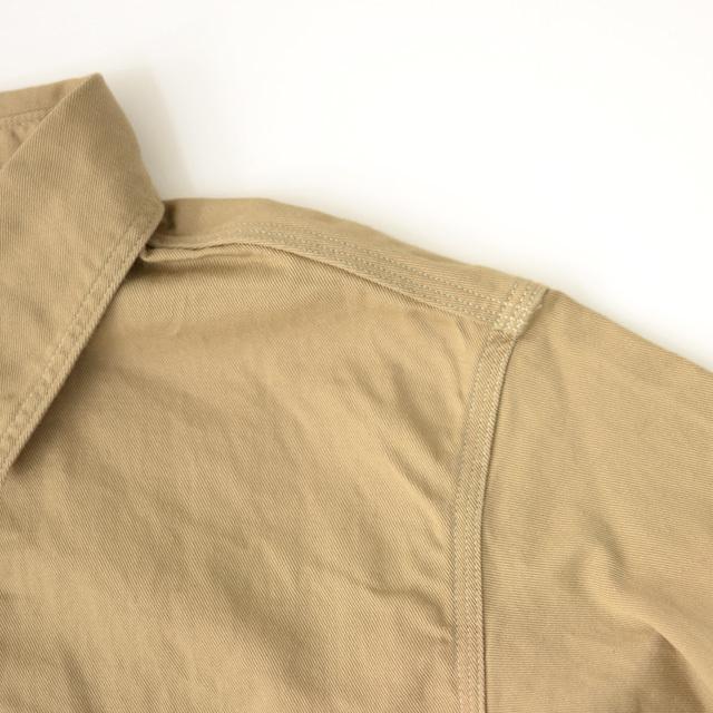 orslow [オアスロウ] M WORK SHIRT KAHKI TWILL [01-8070-40] ワークシャツ・チノツイル・長袖シャツ・MEN\'S _f0051306_15244649.jpg