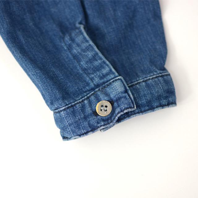 orslow [オアスロウ] M NO COLLAR SHIRTE [01-8073-95] ノーカラーシャツ・デニムシャツ・デニムジャケット・MEN\'S _f0051306_15393349.jpg