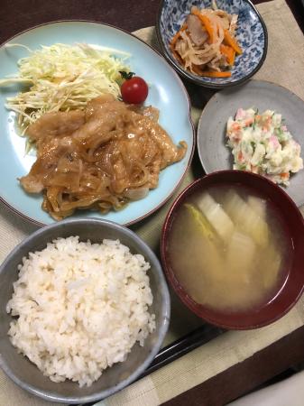豚肉の生姜焼き_d0235108_20125798.jpg
