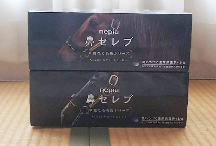 鼻セレブ 華麗なる名馬シリーズ~スクリーンヒーロー&タニノギムレット_f0250322_21263893.jpg