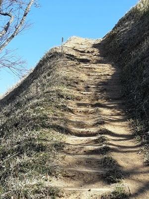 桝形山(白米城跡)登りました_f0129726_18112327.jpg