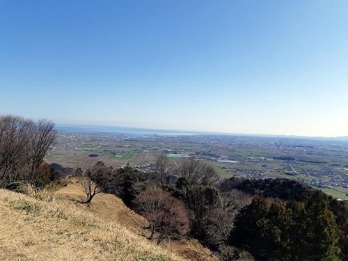 桝形山(白米城跡)登りました_f0129726_18112637.jpg